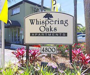 Community Signage, Whispering Oaks