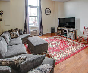 Living Room, Clinton Square Suites