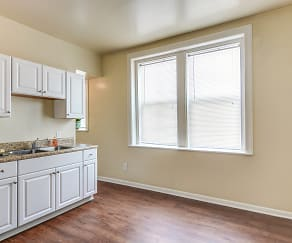Kitchen, Union Flats