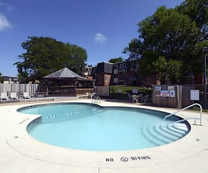 Pool, Evergreen Manor