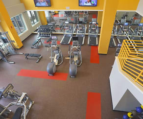 State-of-the-art fitness center open 24 hours., Modera 44