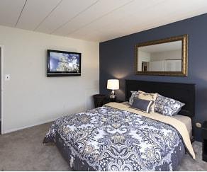 Bedroom, Brandywine Hills Apartments