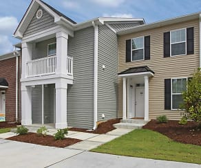 Building, Loch Raven Pointe Apartments and Townhomes