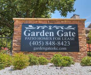Community Signage, Garden Gate Patio Homes
