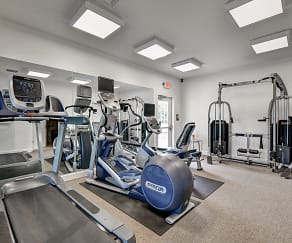 Fitness Weight Room, Misty Creek Village