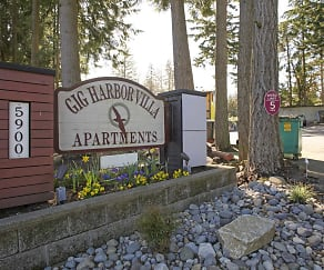 Community Signage, Gig Harbor Villa