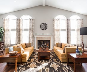Living Room, The Reserve At Dawsons Creek