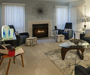 Living Room, Manors At Knollwood