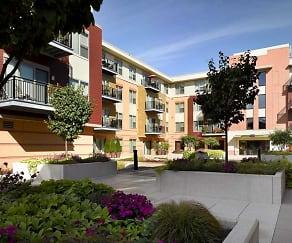 Courtyard, Sequoya Commons