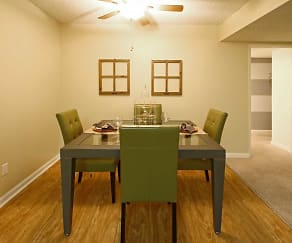 Dining Room, Dakota Creek Apartments