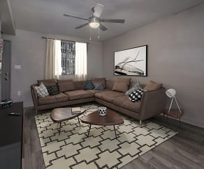 Living Room, Terraces at Clearwater Beach