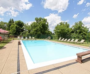 Pool, Bower Hill III Apartments