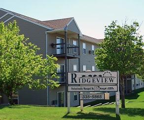 Community Signage, Ridgeview Apartments