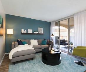 Living Room, Vertu Apartments