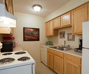 Kitchen, Park East Apartments