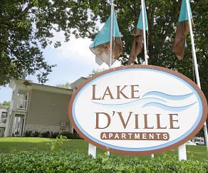 Community Signage, Lake D'Ville
