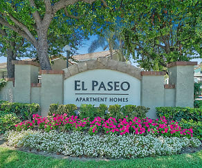 El Paseo Apartment Homes, A G Currie Middle School, Tustin, CA