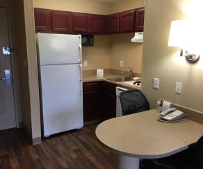 Kitchen, Furnished Studio - Phoenix - Midtown