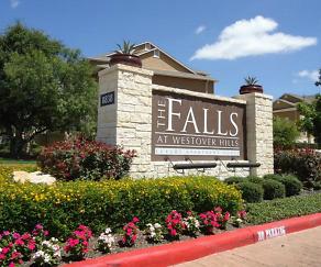 Community Signage, Falls at Westover Hills