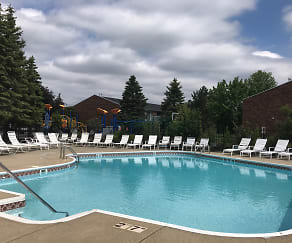 Pool, Hickory Square Apartments