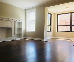 Living Room, The Maynard At 700 W Grace