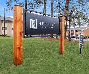 Community Signage, Heritage Apartments