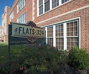 Community Signage, FLATS 324