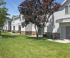 Building, Compass Townhomes