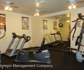 Fitness Weight Room, Olympic Heights