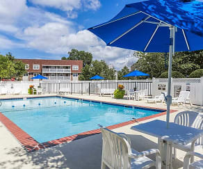 Poolside Lounge Reserved for Residents, Chartwell