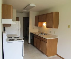 Kitchen, Lawndale Apartments