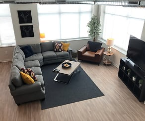 Living Room, Manseau Flats Apartment Building
