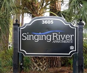 Community Signage, Singing River Apartments