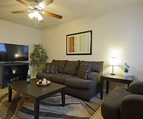 Living Room, Eastgate Ridge Apartments