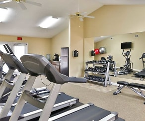 Fitness Weight Room, Summer Pointe Apartments