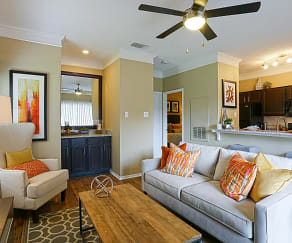 Living Room, The Indigo at Grissom