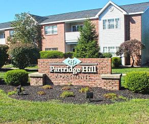 Community Signage, Partridge Hill Apartments