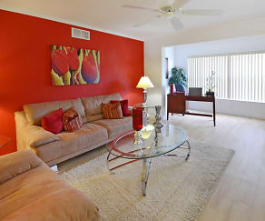 Living Room, Treasure Cay Apartments