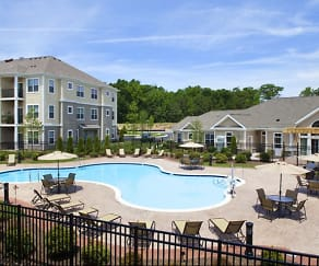 Pool, The Apartments at Charlestown Crossing