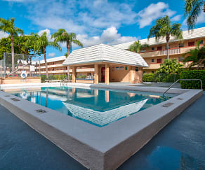 Pool, Sunset Apartments