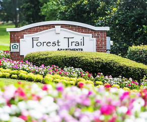 Community Signage, Forest Trail