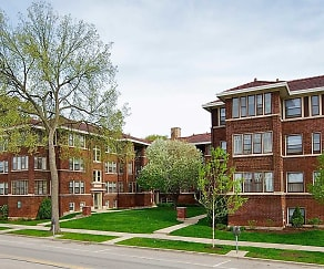 Building, Oak Park Apartments