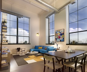 Dining Room, Parkway Lofts
