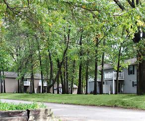 Building, Maple Lane Apartments
