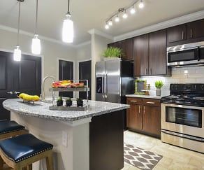 Kitchen, The Abbey at Dominion Crossing