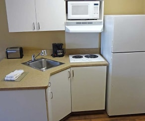 Kitchen, Furnished Studio - Houston - Katy Frwy - Beltway 8