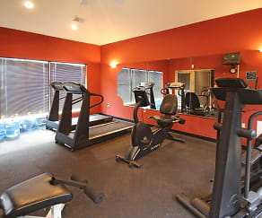 Fitness Weight Room, The Villas Of Forest Springs