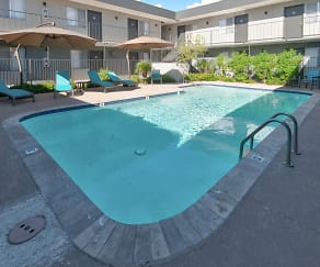 Pool, INDI Tucson- Per Bed Lease