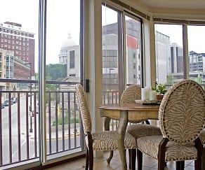 Patio / Deck, Hamilton Place Luxury Apartments