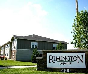 Community Signage, Remington Square